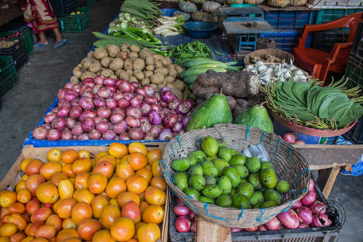 Fruit stall in the andaman