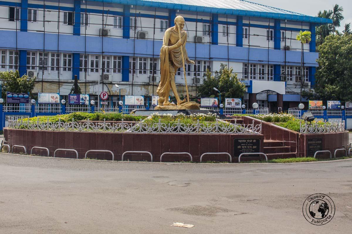 Ghandi Statue in Port Blair