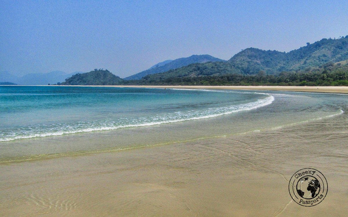 Grandfather beach in Dawei