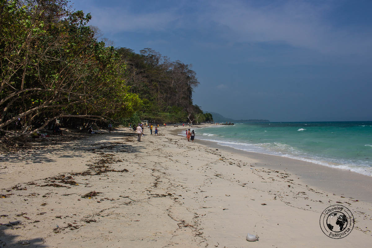 Kalapathar beach is a lesser popular yet interesting beach and one of the top places to visit in andaman
