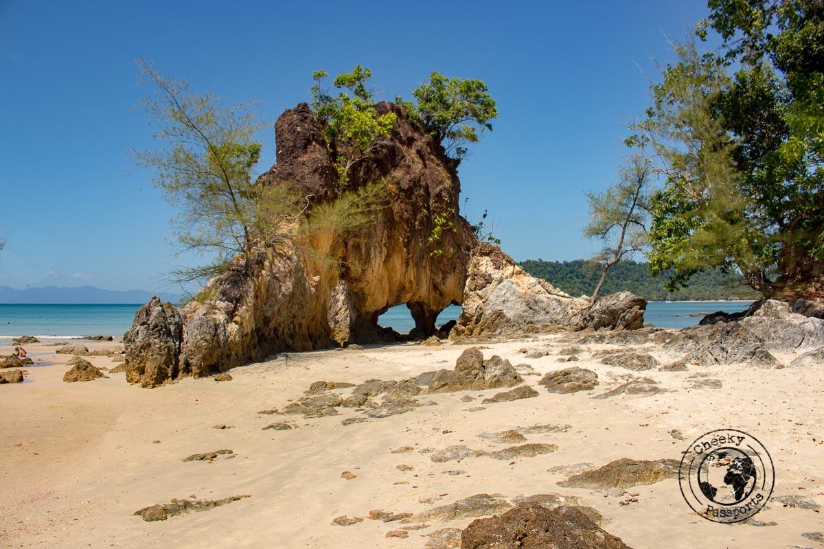 Koh Phayam rock formation