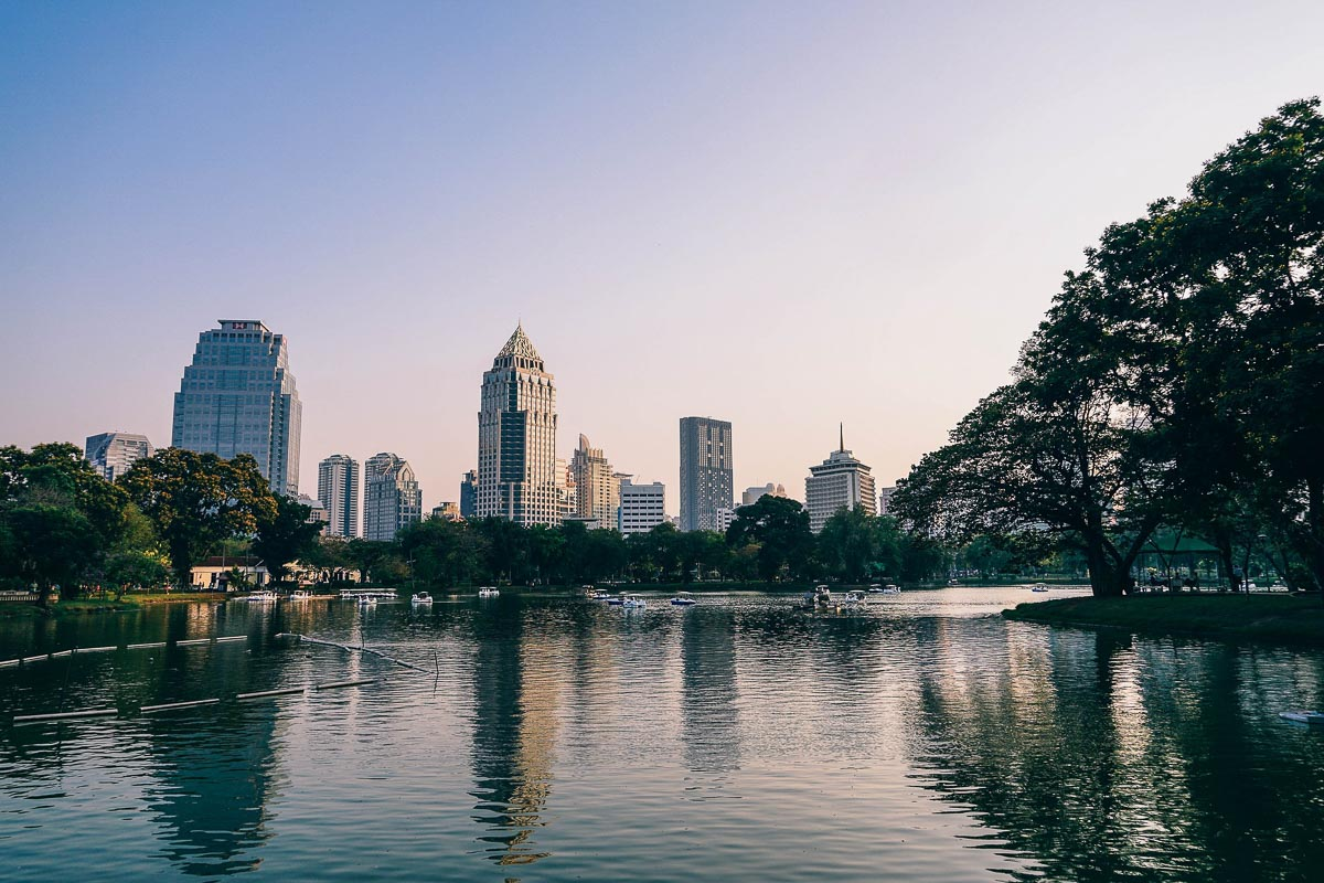 Lumphini Park, photo taken by Igor Ovsyannykov, Bangkok Itinerary