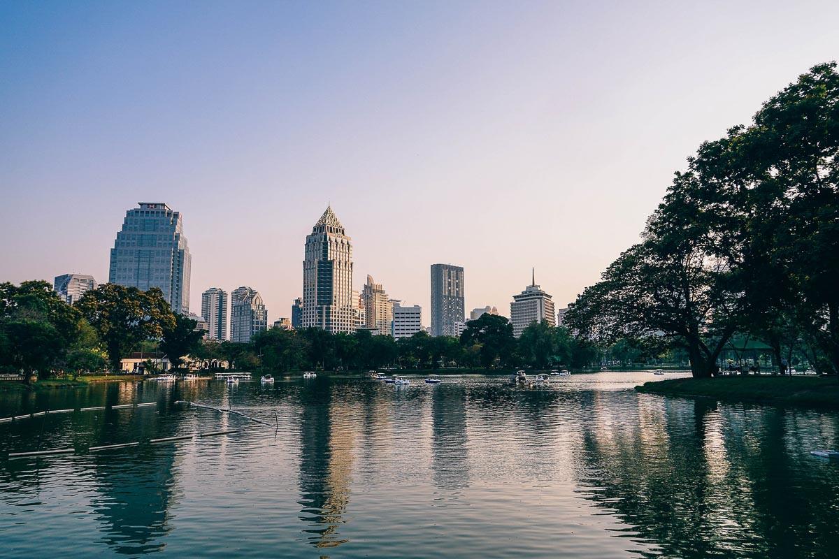 Lumphini Park, photo taken by Igor Ovsyannykov, Bangkok Itinerary