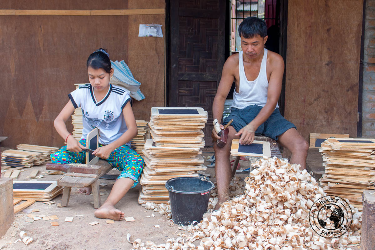 Manufacturing of Blackboard, one of the best things to do in Mawlamyine