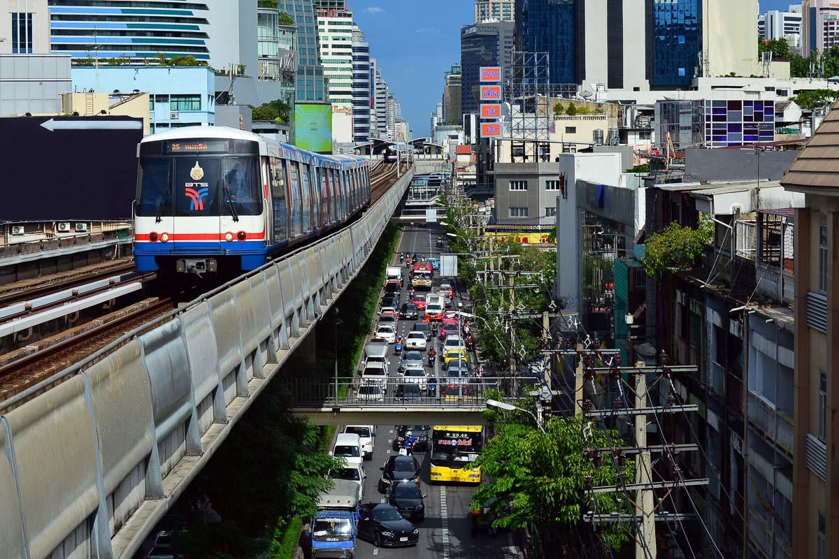 Metro in Bangkok photo credit Quinn Kampschroer
