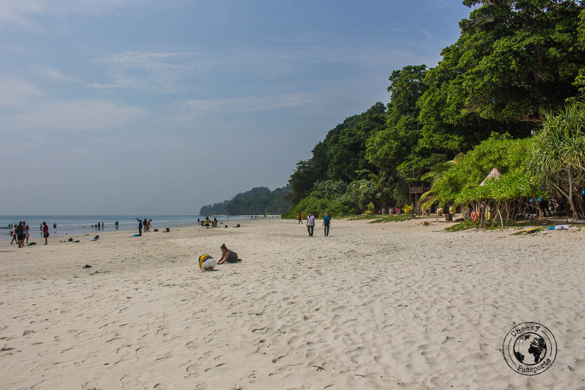 Radhanagar beach, one of the top places to visit in andaman