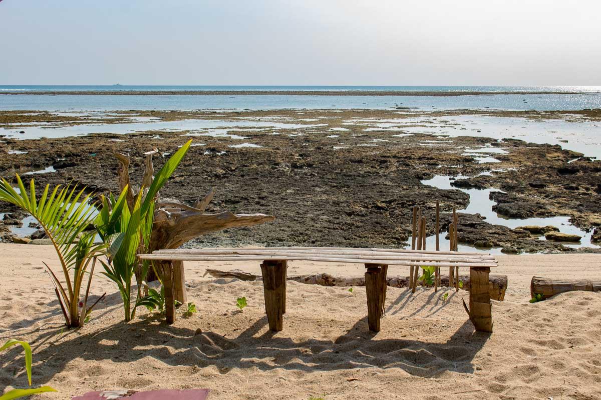 Ramnagar beach (also known as beach no3) on neil island
