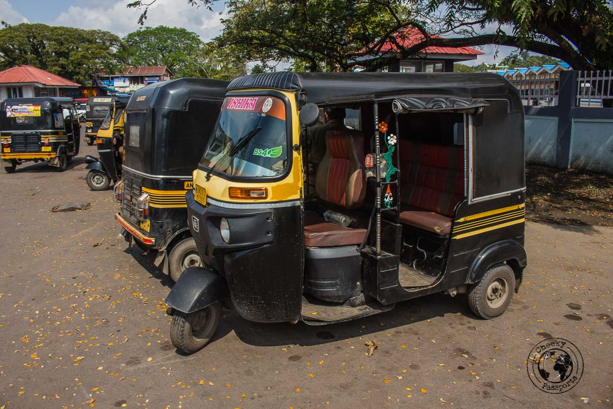 Rickshaw a convenient transportation method around port blair - best places to visit in andaman