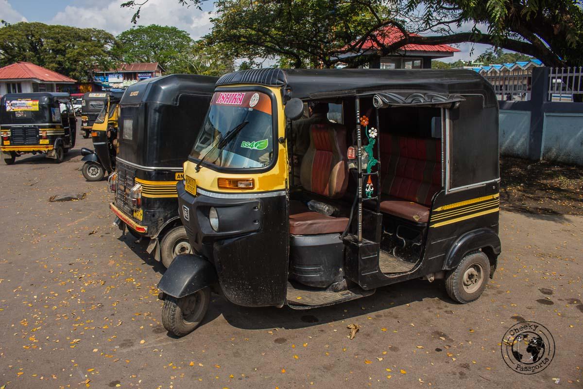 Rickshaw a convenient transportation method around port blair - best places to visit in andaman