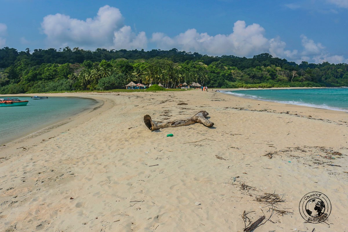 Ross and Smith island sand bar, one of the top places to visit in andaman