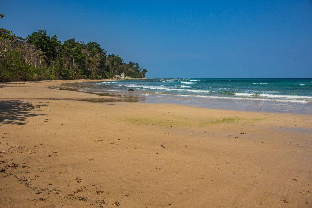 Sitapur beach (also known as beach 5) at Neil island