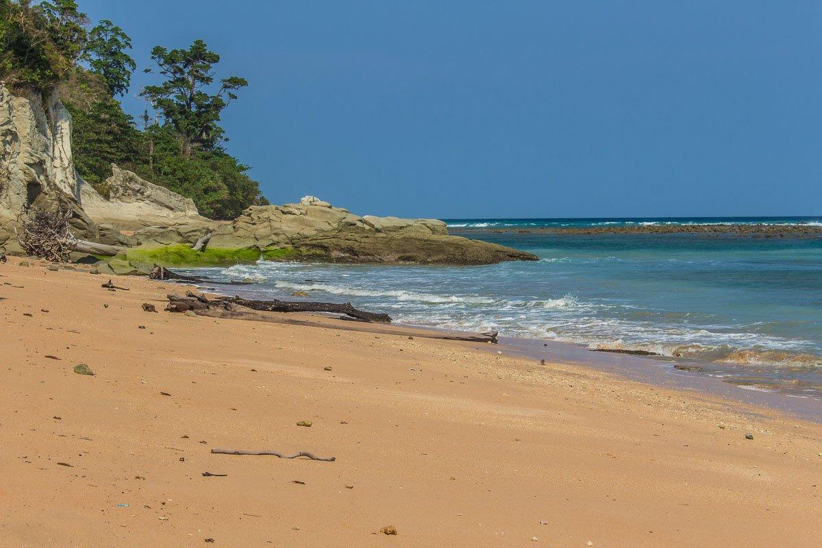 Sitapur beach in Neil island, Andaman