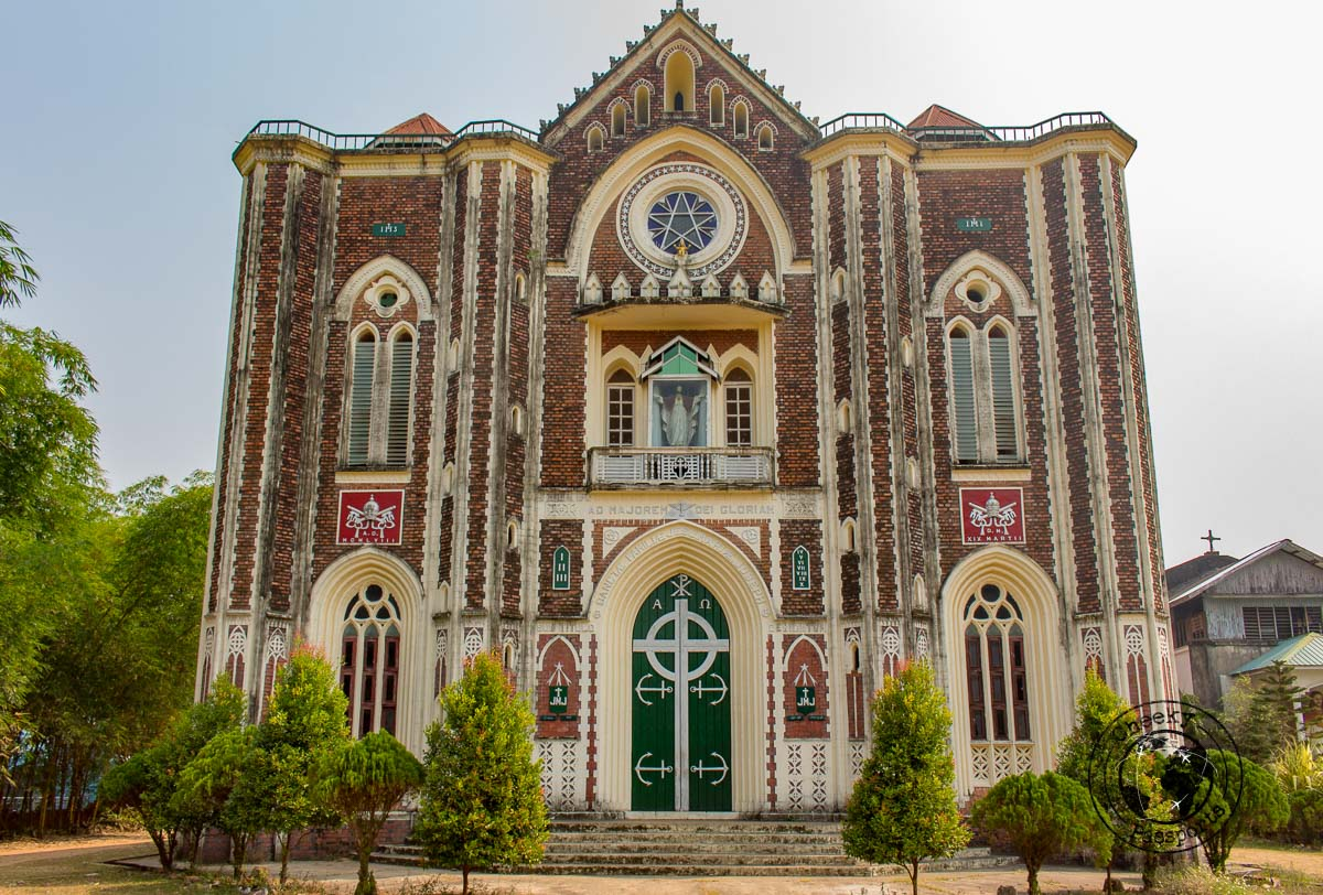 St. Patrick's Cathedral - top things to do in Mawlamyine South Myanmar