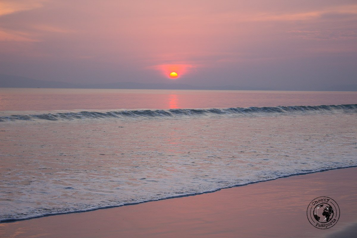 Sunset at Radhanagar beach, one of the top places to visit in andaman