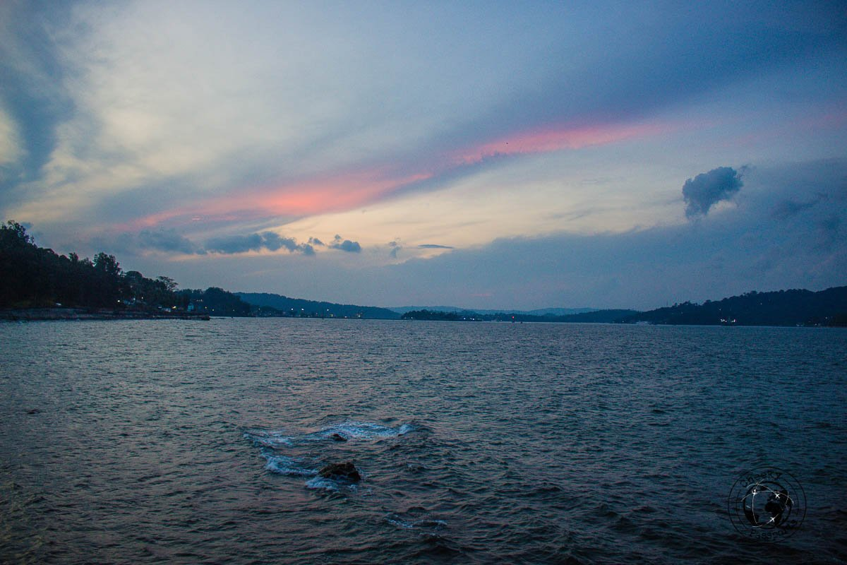 Sunset from the Port Blair promenade - best places to visit in andaman
