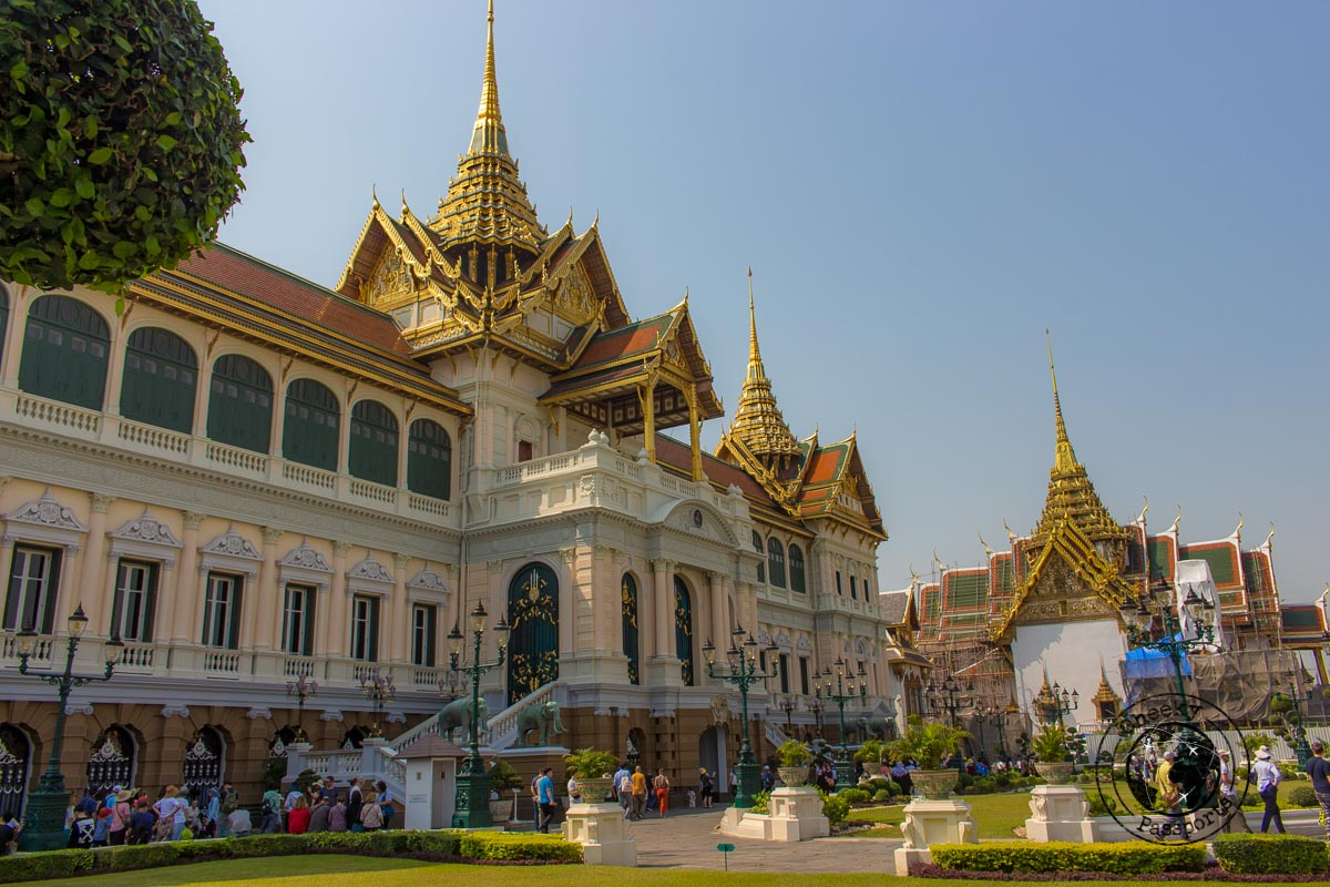 The Grand Palace of Bangkok, the first stop on your 3 day bankok itinerary