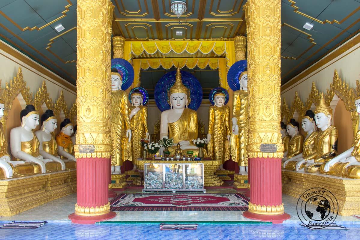 Uzina Pagoda of Mawlamyine, South myanmar