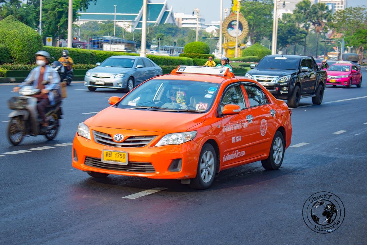 The taxis of bangkok