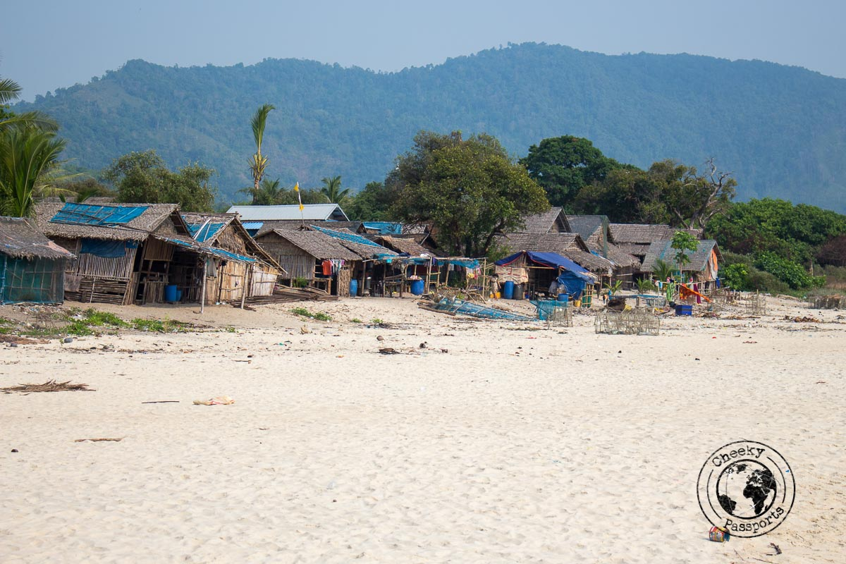 Tizit Beach in the Dawei Peninsula