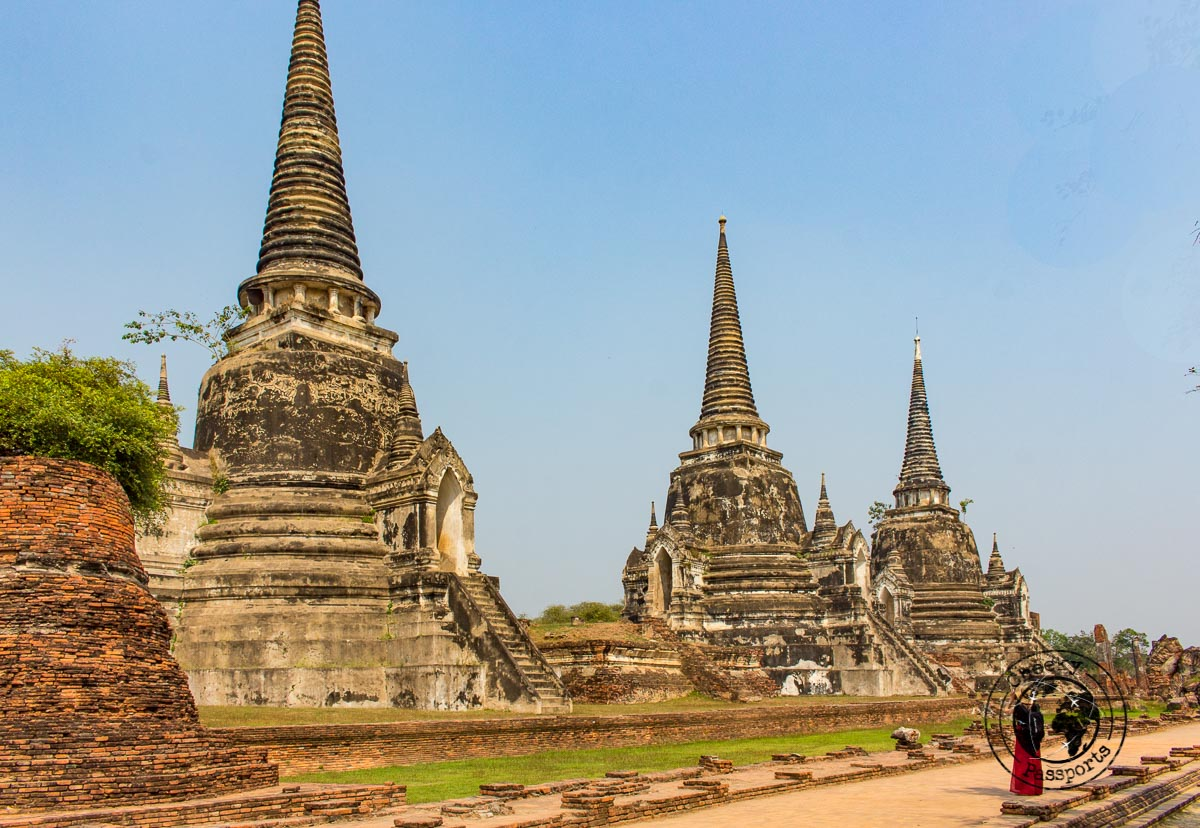 Wat Mahathat at the Ayutthaya Historical Park, one of the top places to visit in Bangkok in 3 days