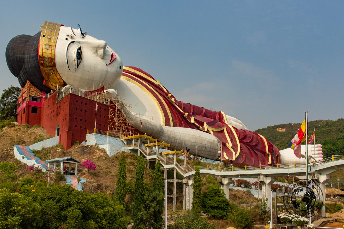 Win Sein Taw Ya Reclining Buddha is one of the top things to do in Mawlamyine, myanmar