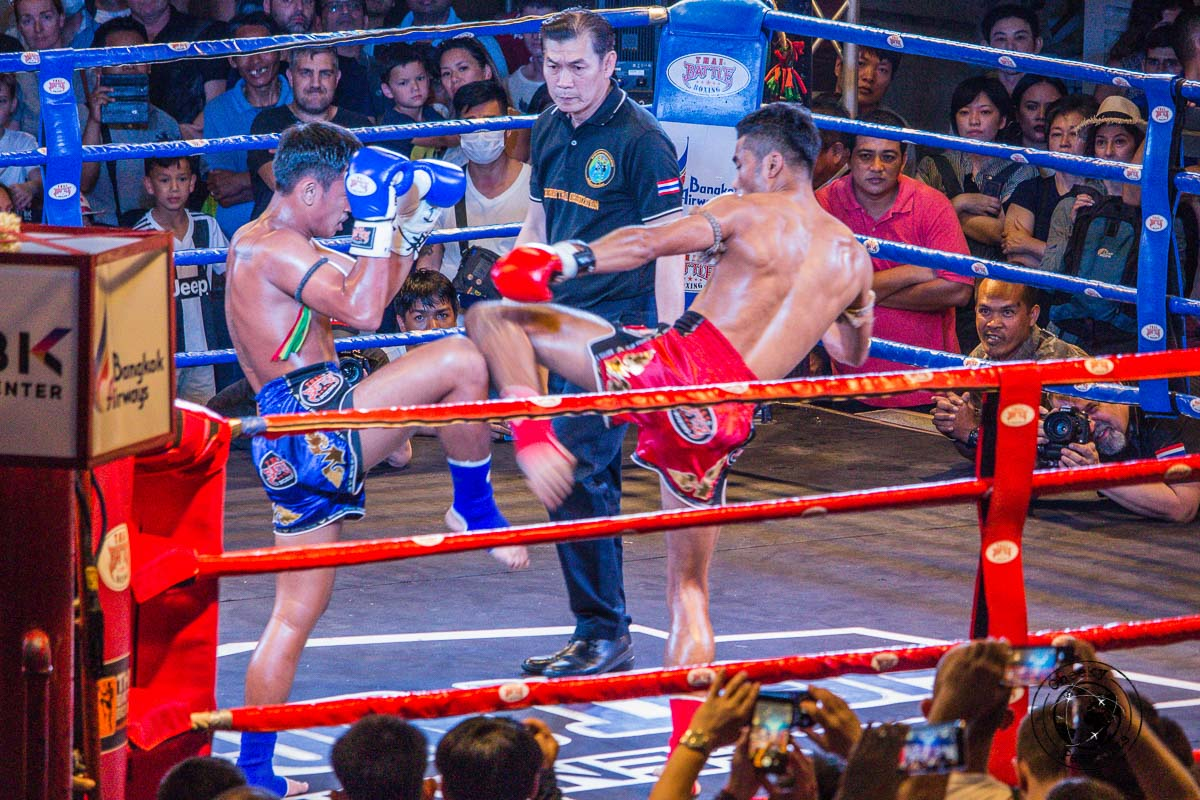 a Muay Thai fight, one of the top things to do in Bangkok in 3 days
