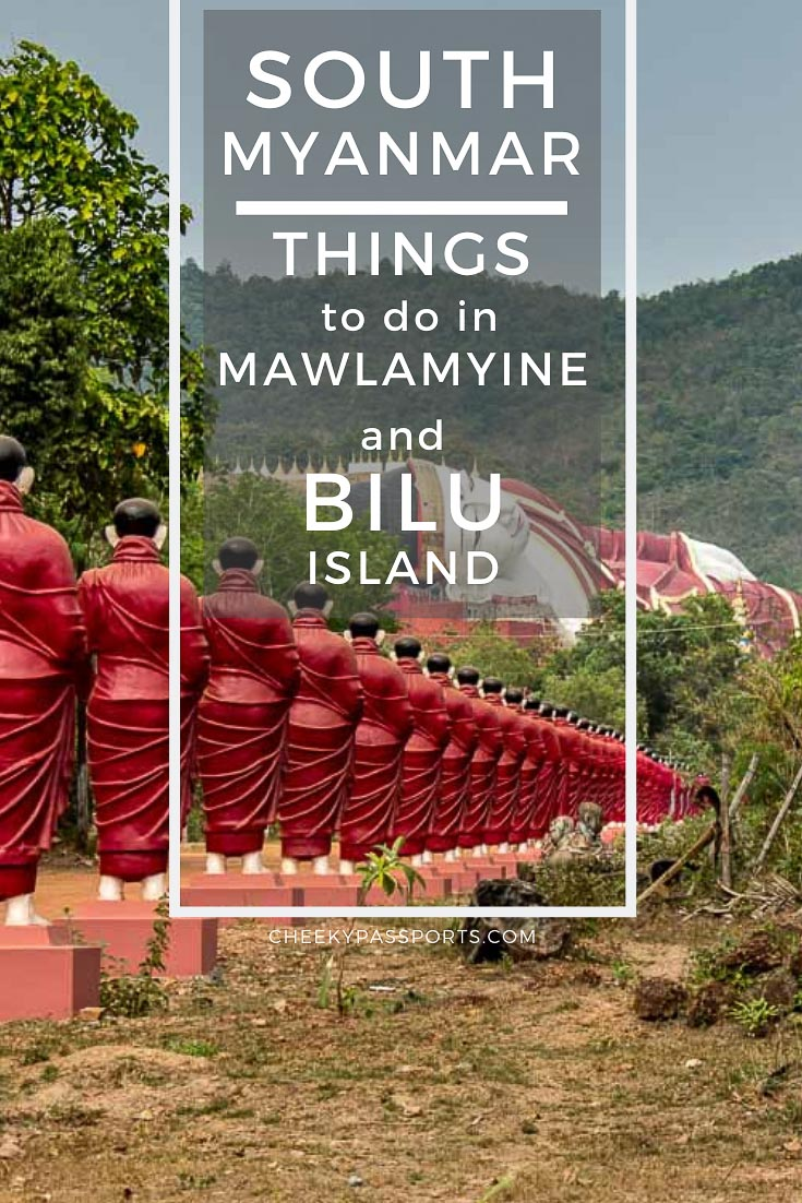 Mawlamyine makes for a fascinating stop on your #Myanmar #itinerary. Here's a look at all the best things to do in #Mawlamyine and #Bilu #Island, Mynamar. #travel #offthebeattravel #amazingdestinations #wonderfuldestinations #unexplored #remote #travelstoke