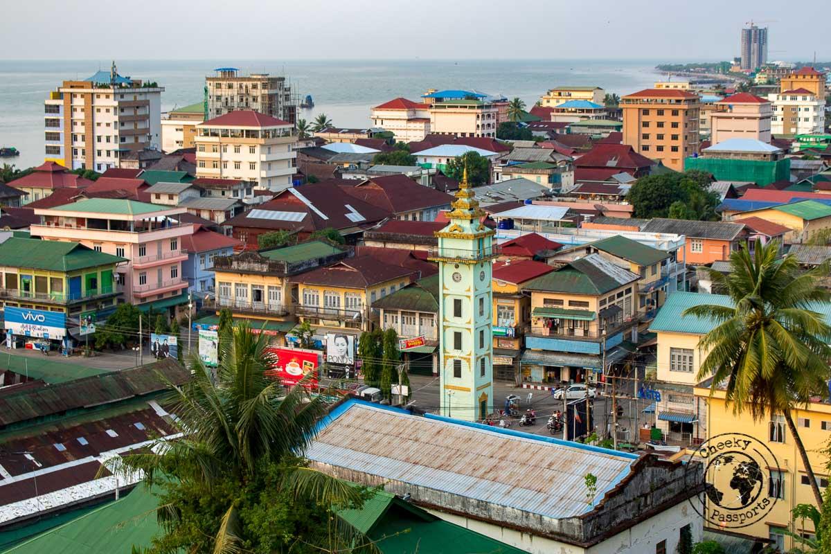 City view of Myiek