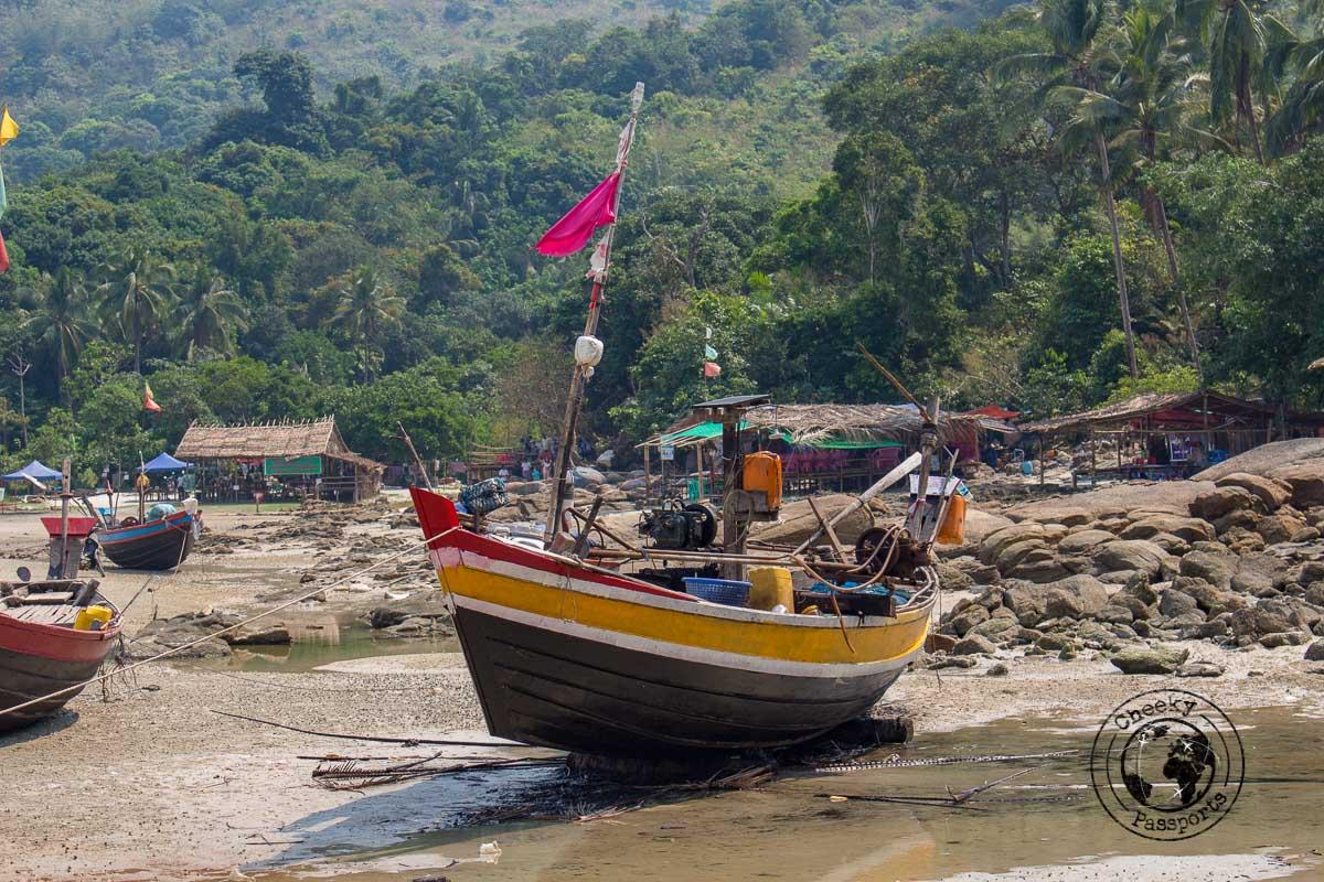 Grandfather beach (Po Po Kyauk) - Beaches in Dawei