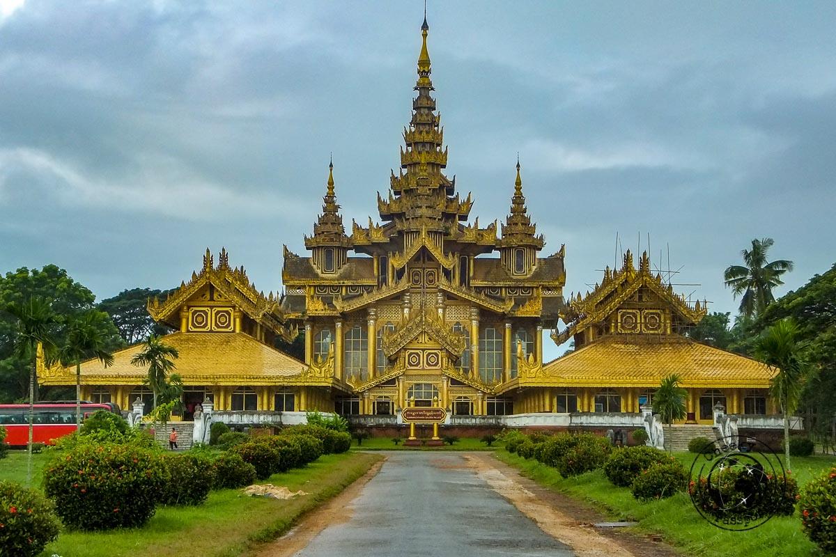 Kanbawzathadi Golden Palace in Bago - Southern Myanmar Itinerary
