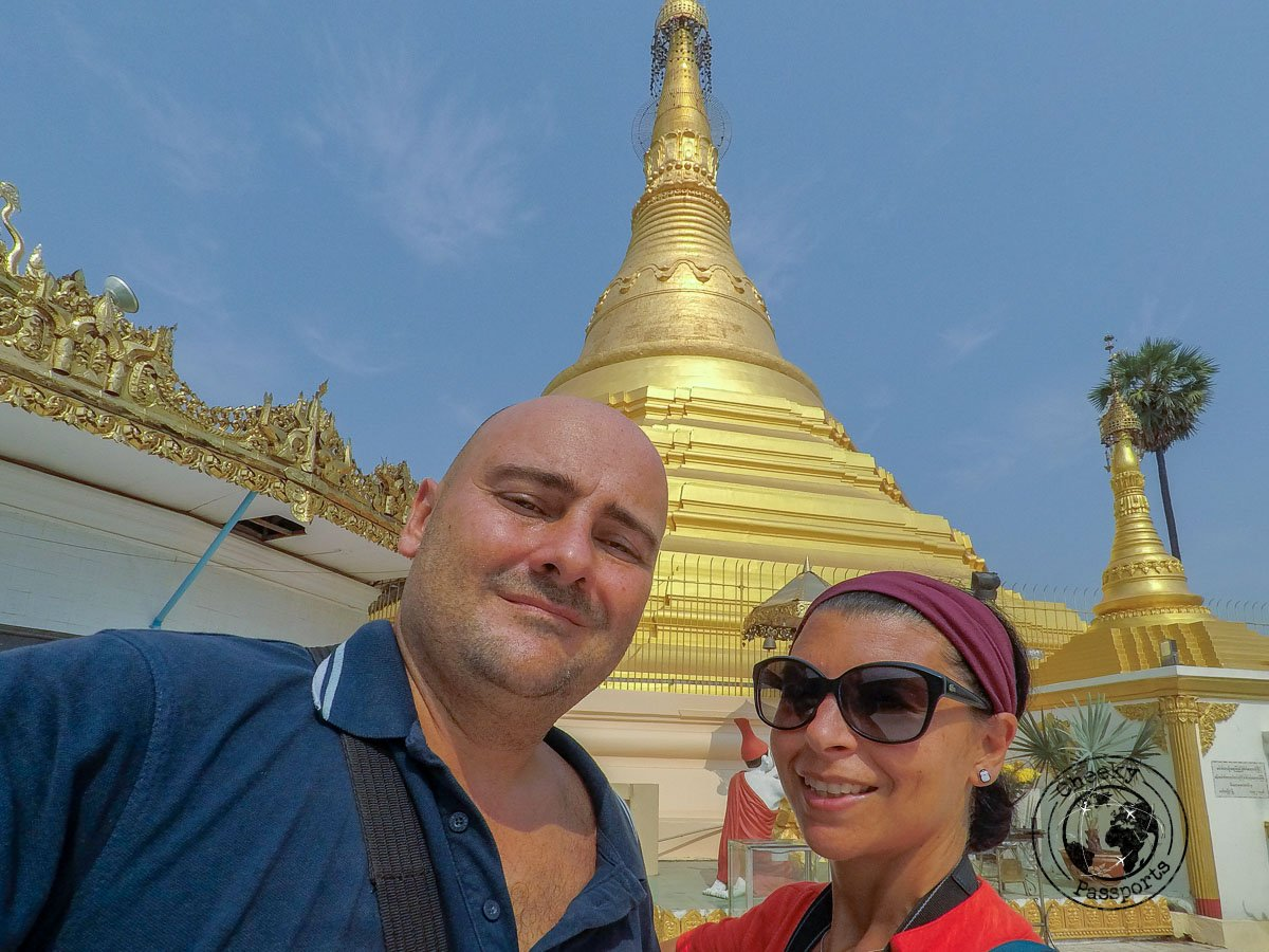 Michelle and Nikki during the Southern Myanmar Itinerary