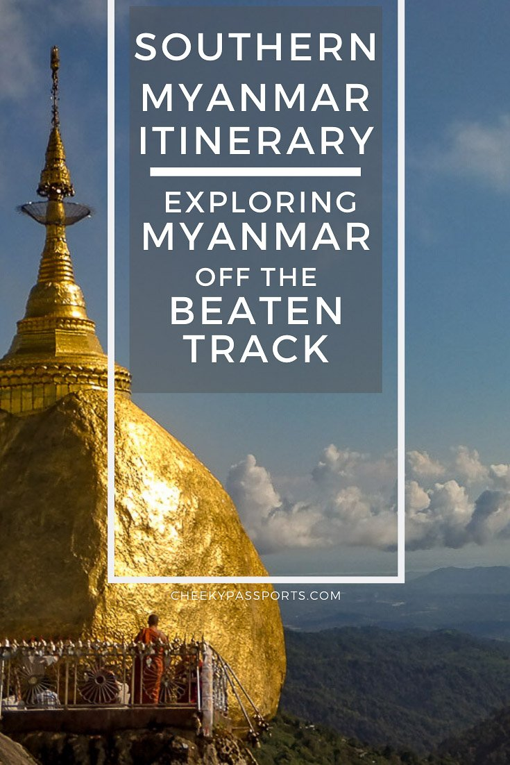 Our southern #Myanmar #itinerary will take you right across the south of the country to #experience the #best #attractions of Myanmar off the beaten track! #offthebeattravel #travel #travelstoke