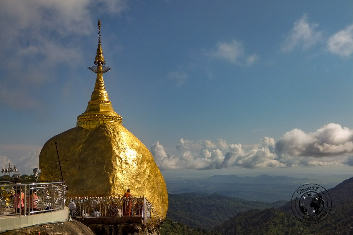 The Golden Rock in Myanmat - Southern Myanmar Itinerary