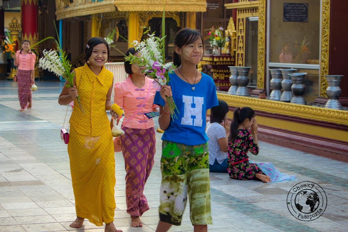The amazingly friendly people of myanmar, myiek