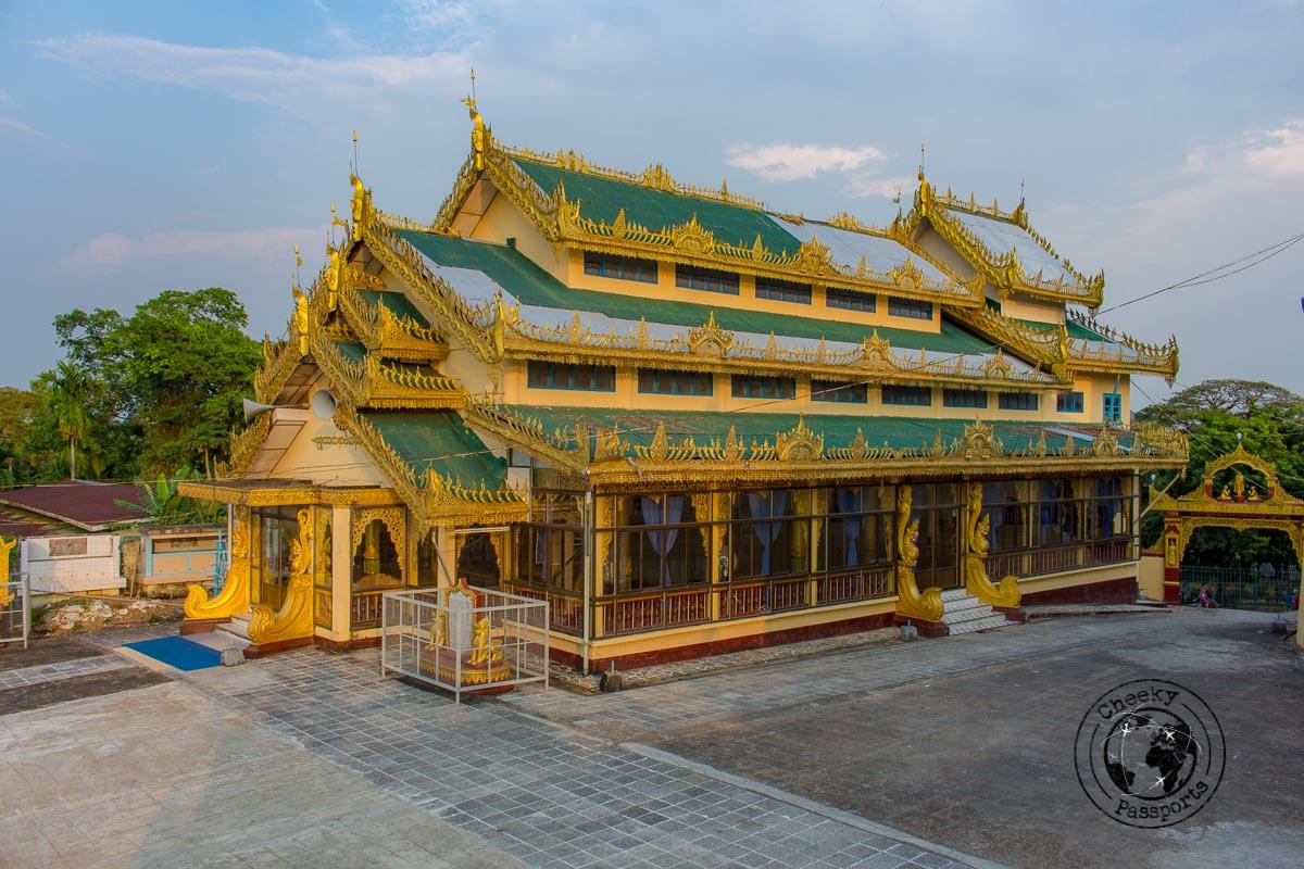Thein Taw Gyi Pagoda - Southern Myanmar Itinerary