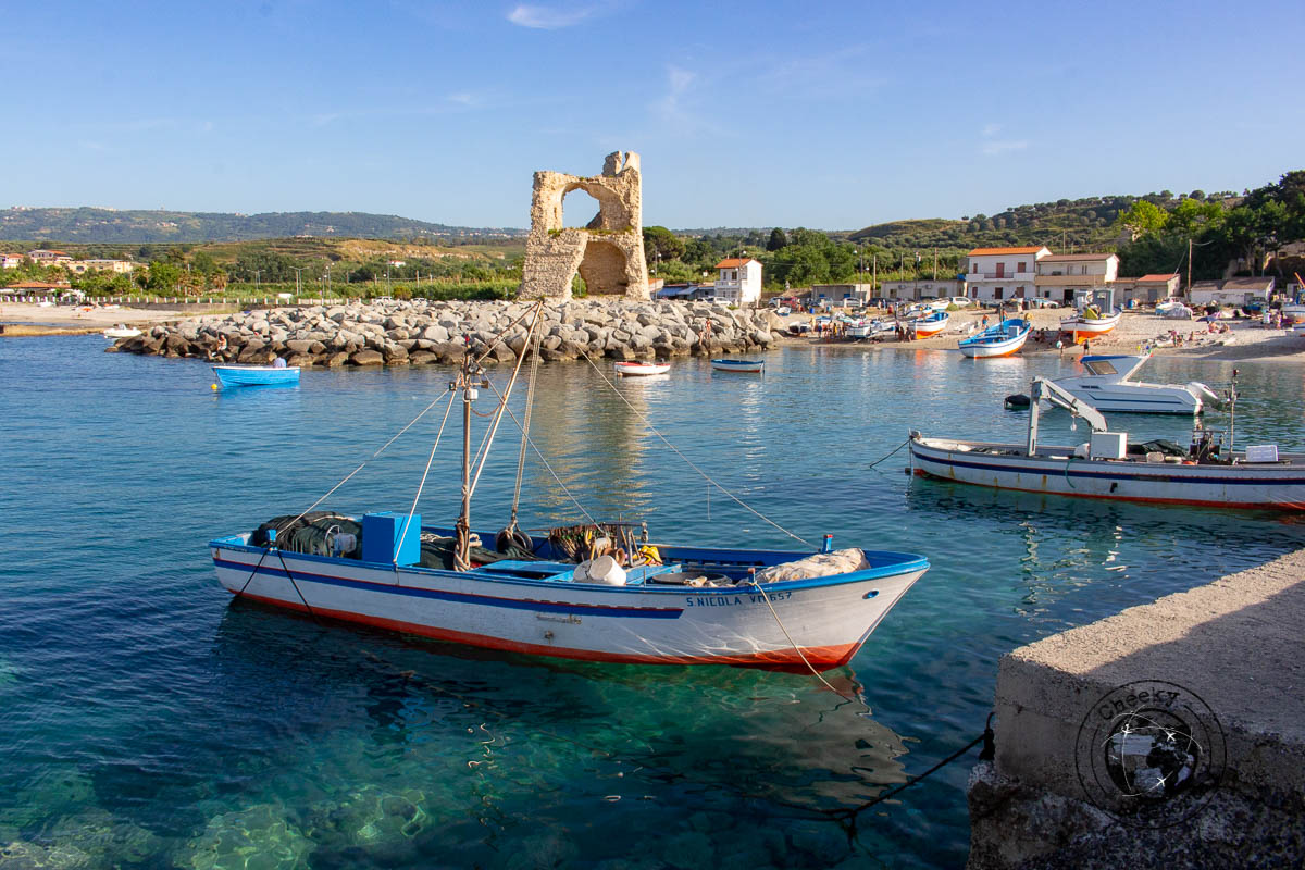 The tower of Briatico - things to do in calabria