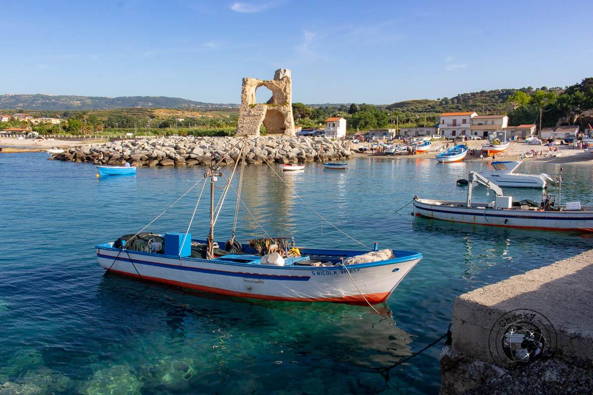 Amazing Briatico fishing village in Calabria