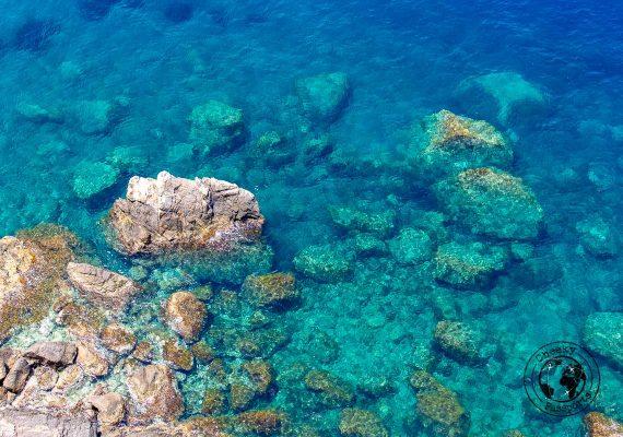Amazing waters around tropea beaches