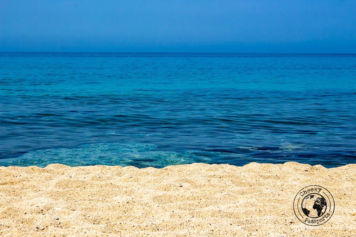 Clear Waters around Santa Maria Beach