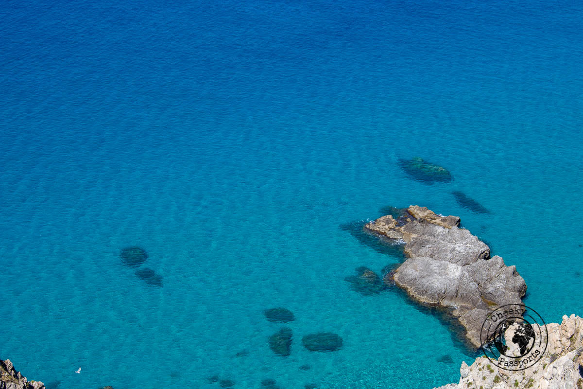 Grotticcelle beach, one of the best tropea beaches