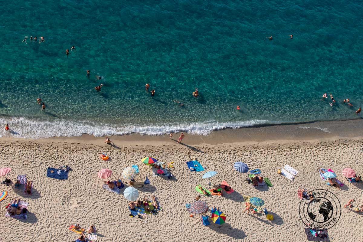Mare Piccolo di Tropea, one of the best tropea beaches