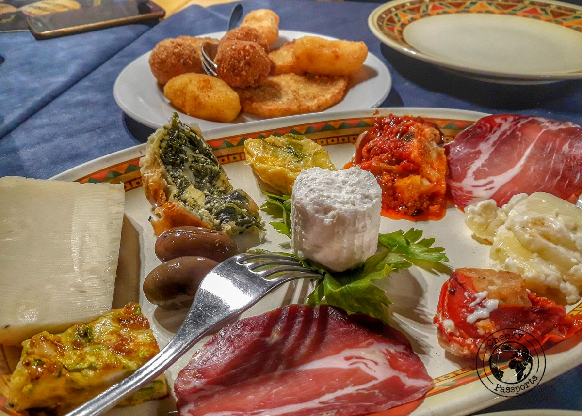 Platters for Lunch