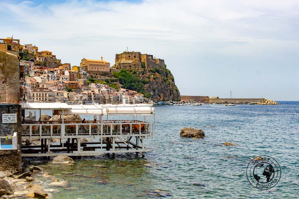 The seaside town of Scilla in Calabria