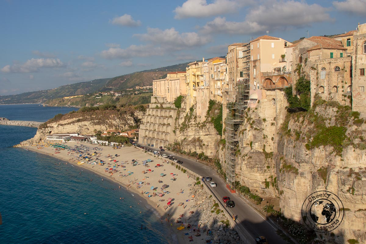 Tropea City walls