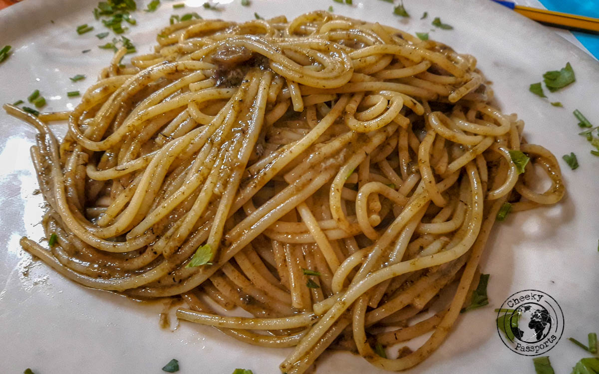 A pasta dish is the among the best things to do in Crotone