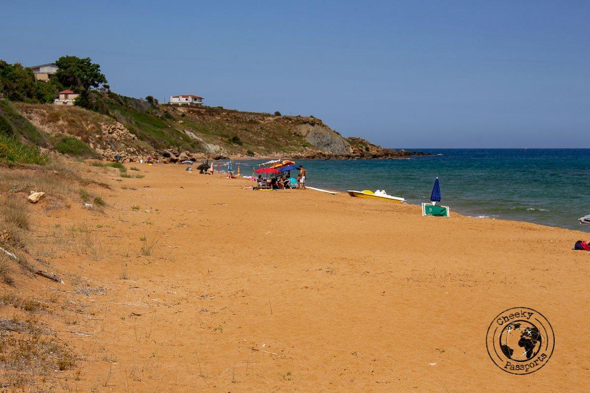 Le Cannella Beach in Calabria
