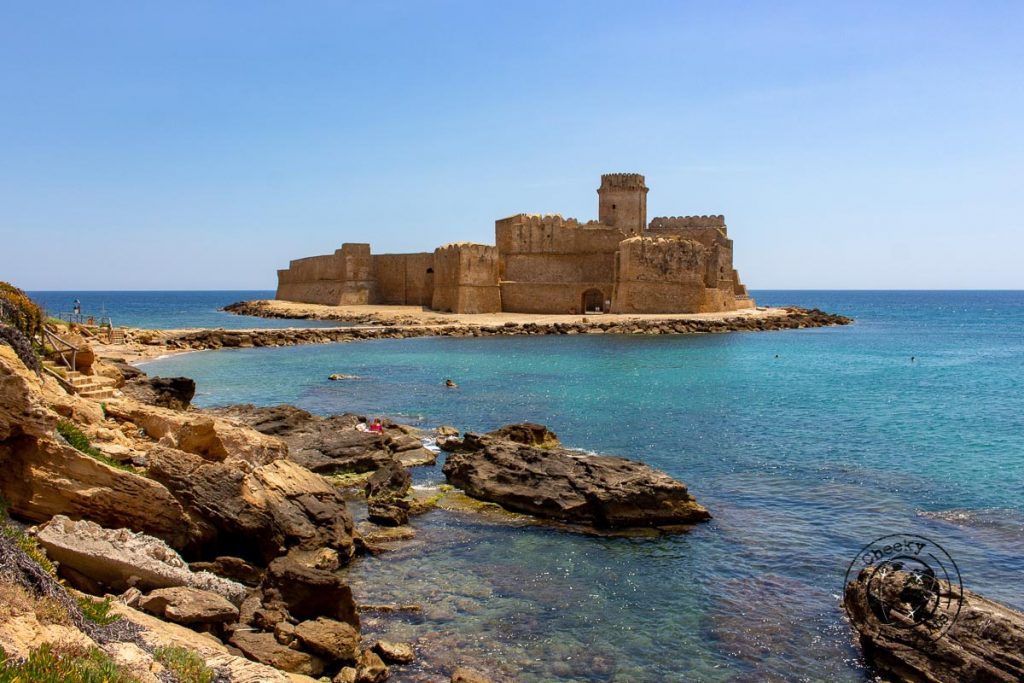 Le Castella was one of our favourite places to visit in Crotone
