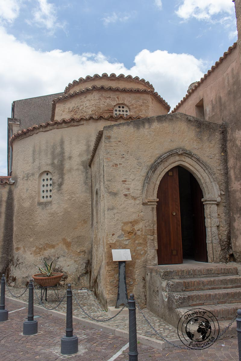 The little Byzantine baptistry in Santa Severina