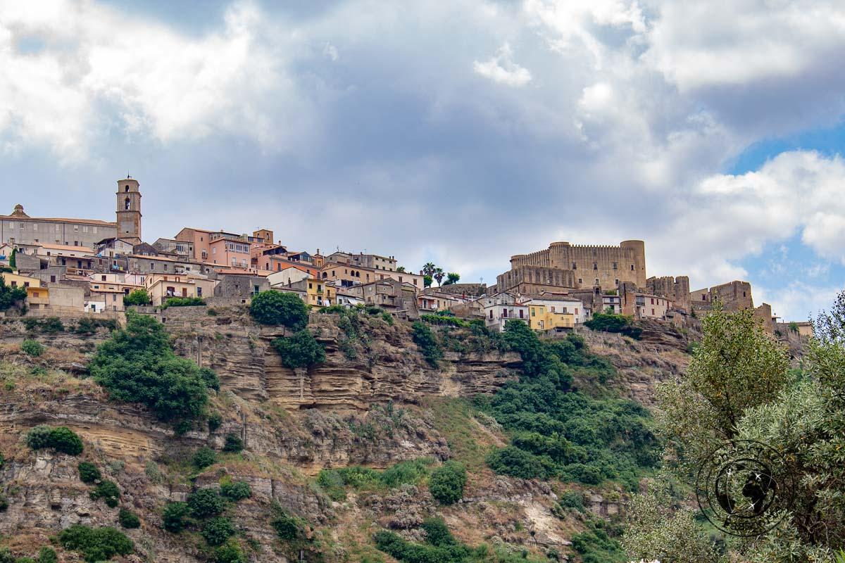 a closer view of Santa Severina near Crotone