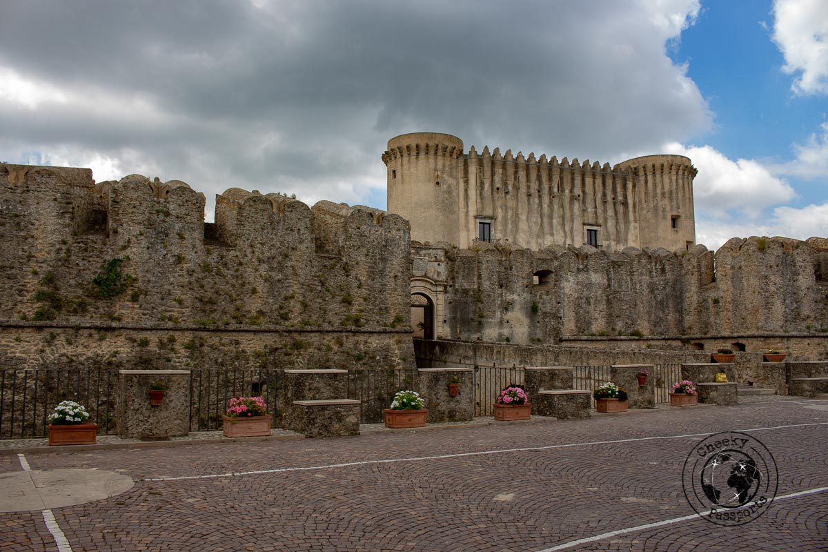 Carafa Castle - top things to do in Calabria